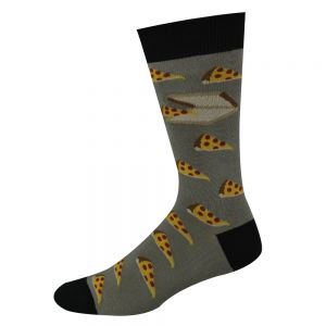 Bamboo Pizza Socks by Bamboozld