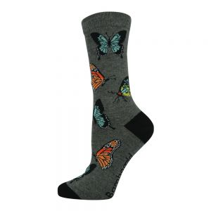 WOMENS BUTTERFLY SOCK