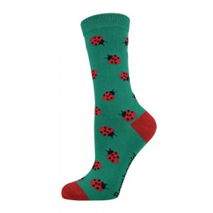 WOMENS LADYBIRD SOCK