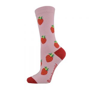WOMENS STRAWBERRY SOCK