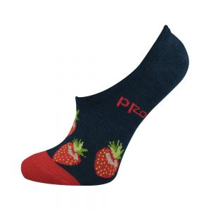 WOMENS STRAWBERRY SECRET SOCK