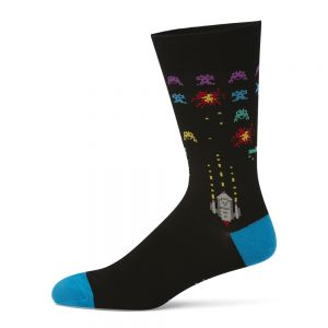 MENS SPACE INVADERS SOCK