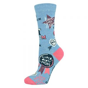WOMENS SUPER DUPER MUM SOCK