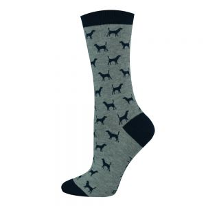 Womens Dog Design Socks