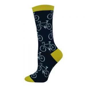 Womens Bamboo Big Cycle Bike Socks