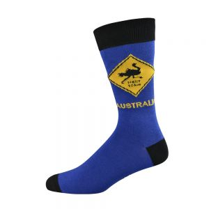 EMU ROAD SIGN SOCK