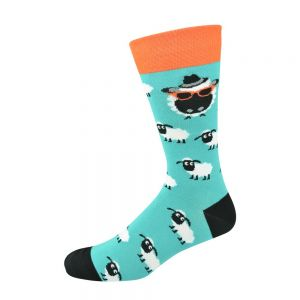 MENS BAAD TEAL SOCK