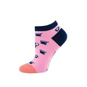WOMENS CUP OF TEA PED SOCK