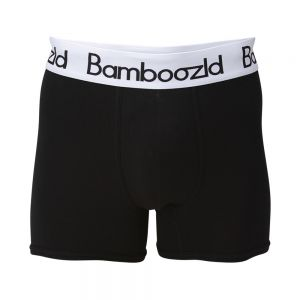 MENS UNDERWEAR TRUNK -  BLACK