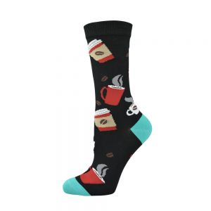 WOMENS COFFEE SOCK