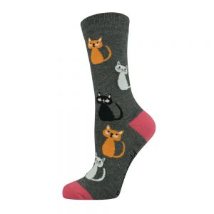 WOMENS KITTY CATS SOCK