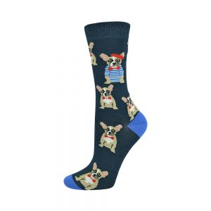 WOMENS FRENCHY BAMBOO SOCK