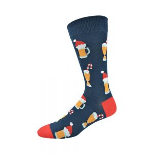 MENS XMAS BEER SOCK