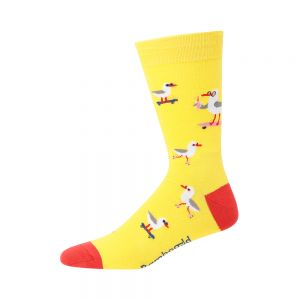 MENS SEASIDE SEAGULL SOCK