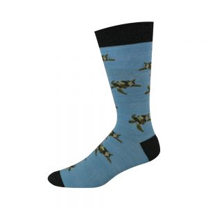 Sea Turtle Bamboo Socks