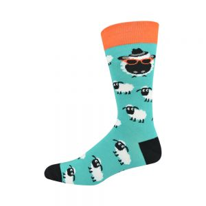 MENS BAAD TEAL BAMBOO SOCK