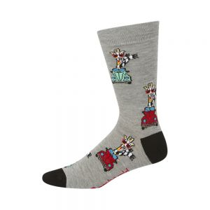 MENS DRIVING GIRAFFE SOCK