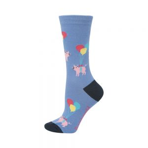 WOMENS PIGS WILL FLY SOCK