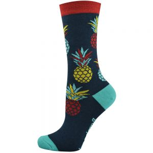Big Pineapple Bamboo Socks for Women