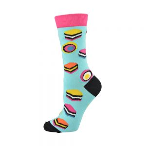 Licorice Allsorts Bamboo Socks